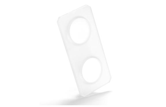 industria aeronautica lente de visor tratada